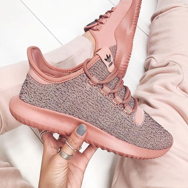 low priced c4dd8 fa48b The new adidas Originals Tubular Shadow in Raw Pink available at  stylerunner.com  adidas  sneakers  Regram via  sportstylist
