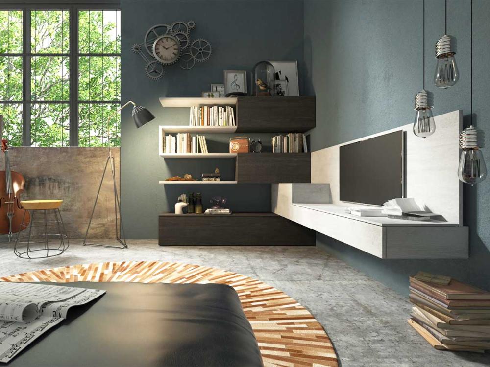 living soluzione angolo - Google Search   Mobili soggiorno ...