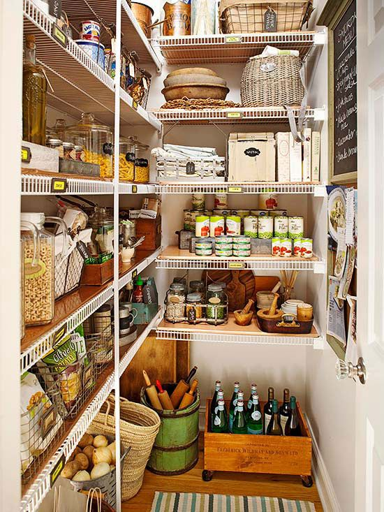 Pantry Solutions Starring Flea Market Finds Kitchen