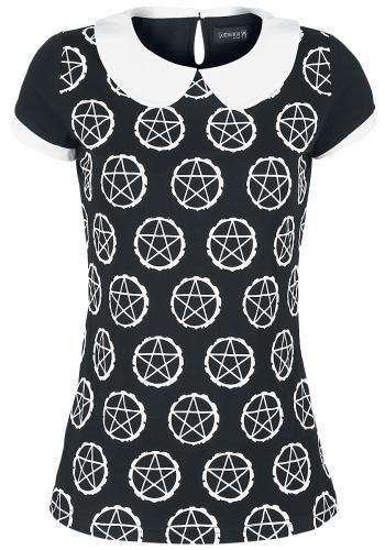 Pentagram Shirt - T-shirt van Gothicana by EMP