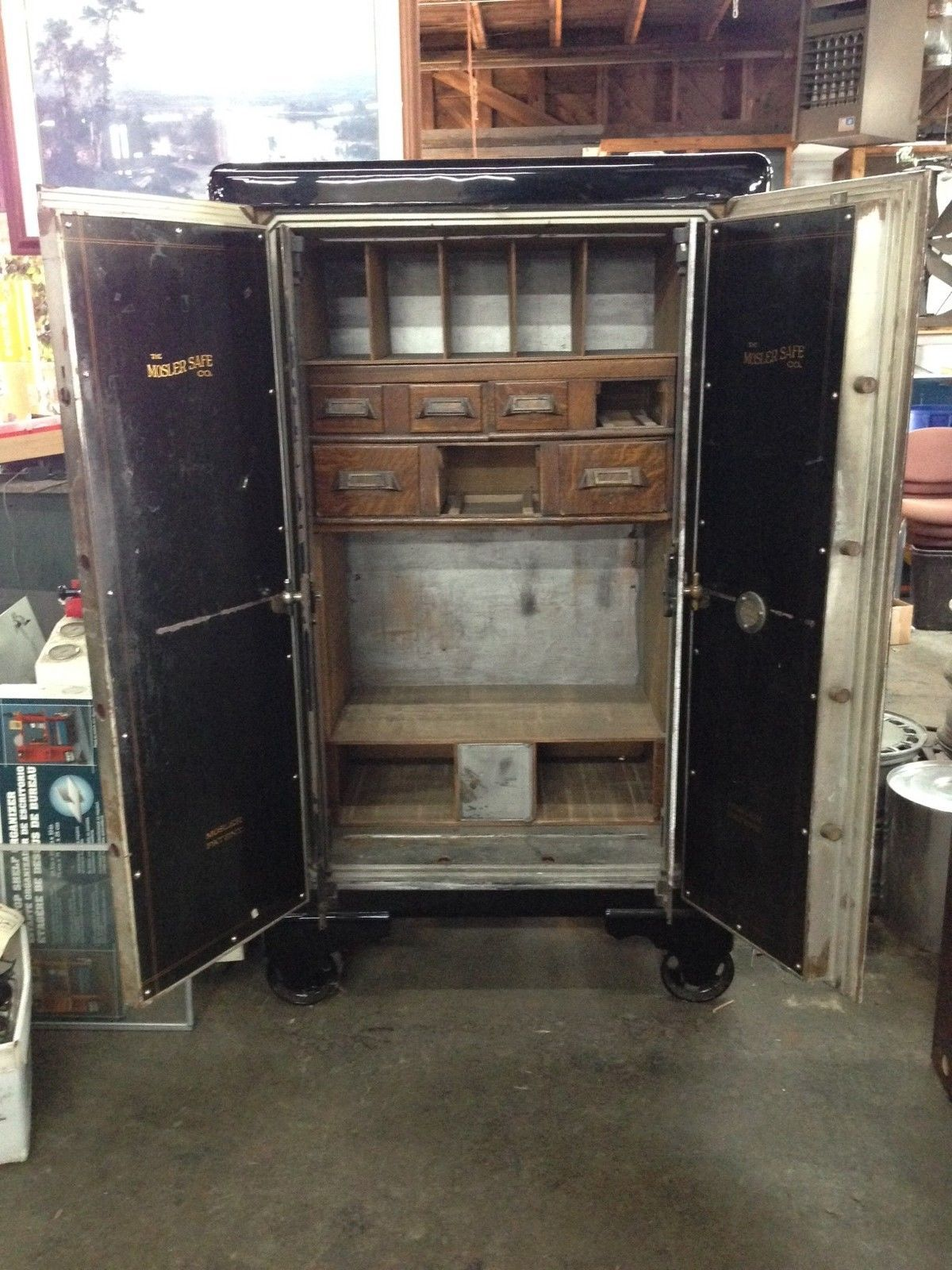 Mosler Antique Safe Vault Circa 1920 s in Very Good Condition