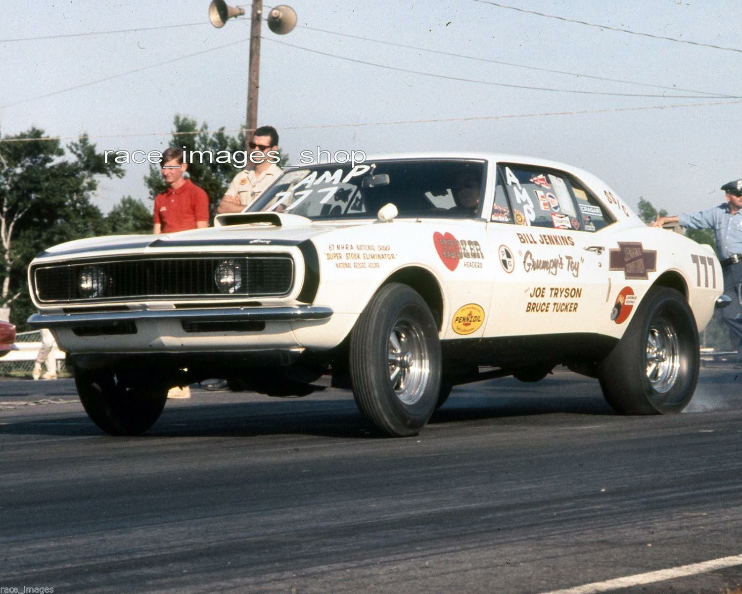 Pin By Steve Davies On Bill Grumpy Jenkins Drag Racing Cars Camaro Chevrolet Camaro 1967