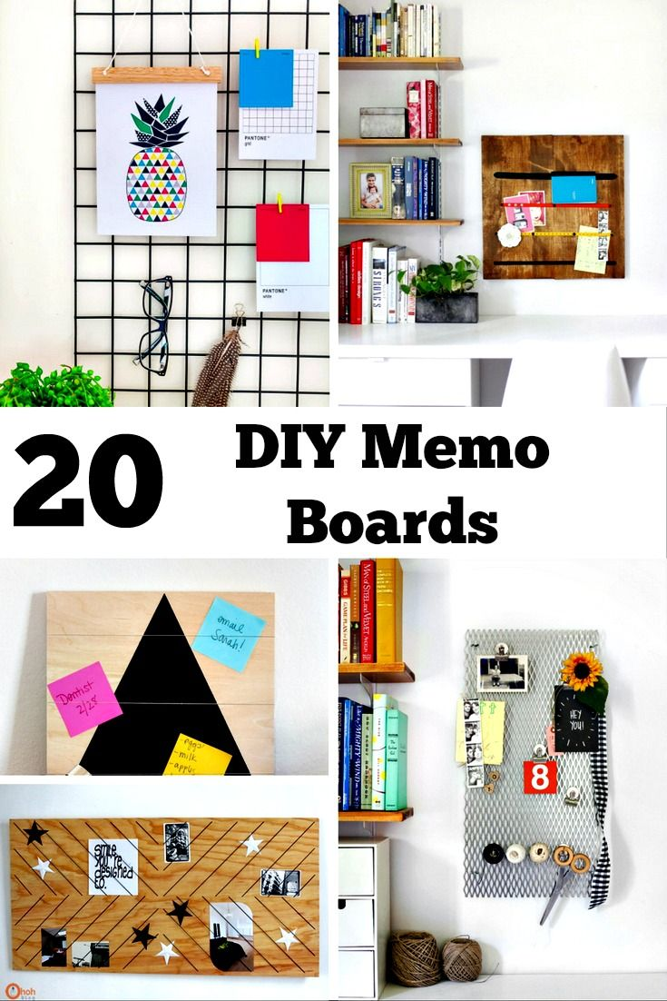 DIY Memo Board Ideas - | Diy memo board, Board and Embroidery