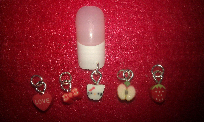 nail jewelry | nail art fimo nail dangles nail jewelry nail charms ...