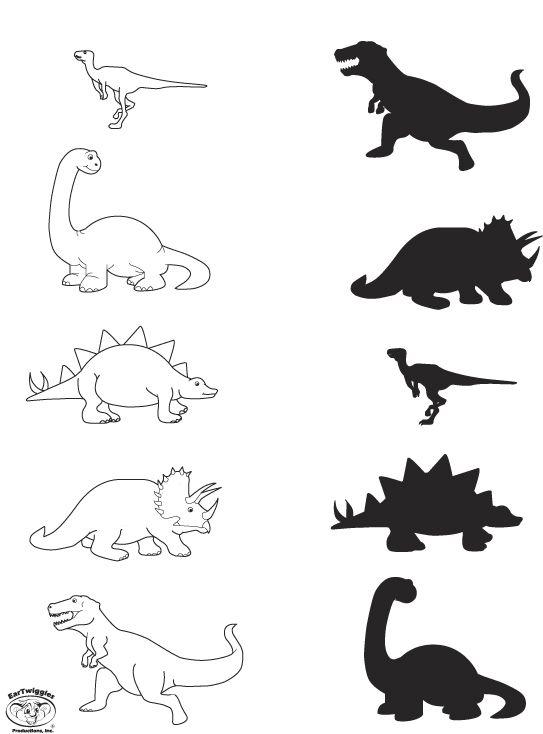 Vorlage Dinosaurier Kostenloser Download