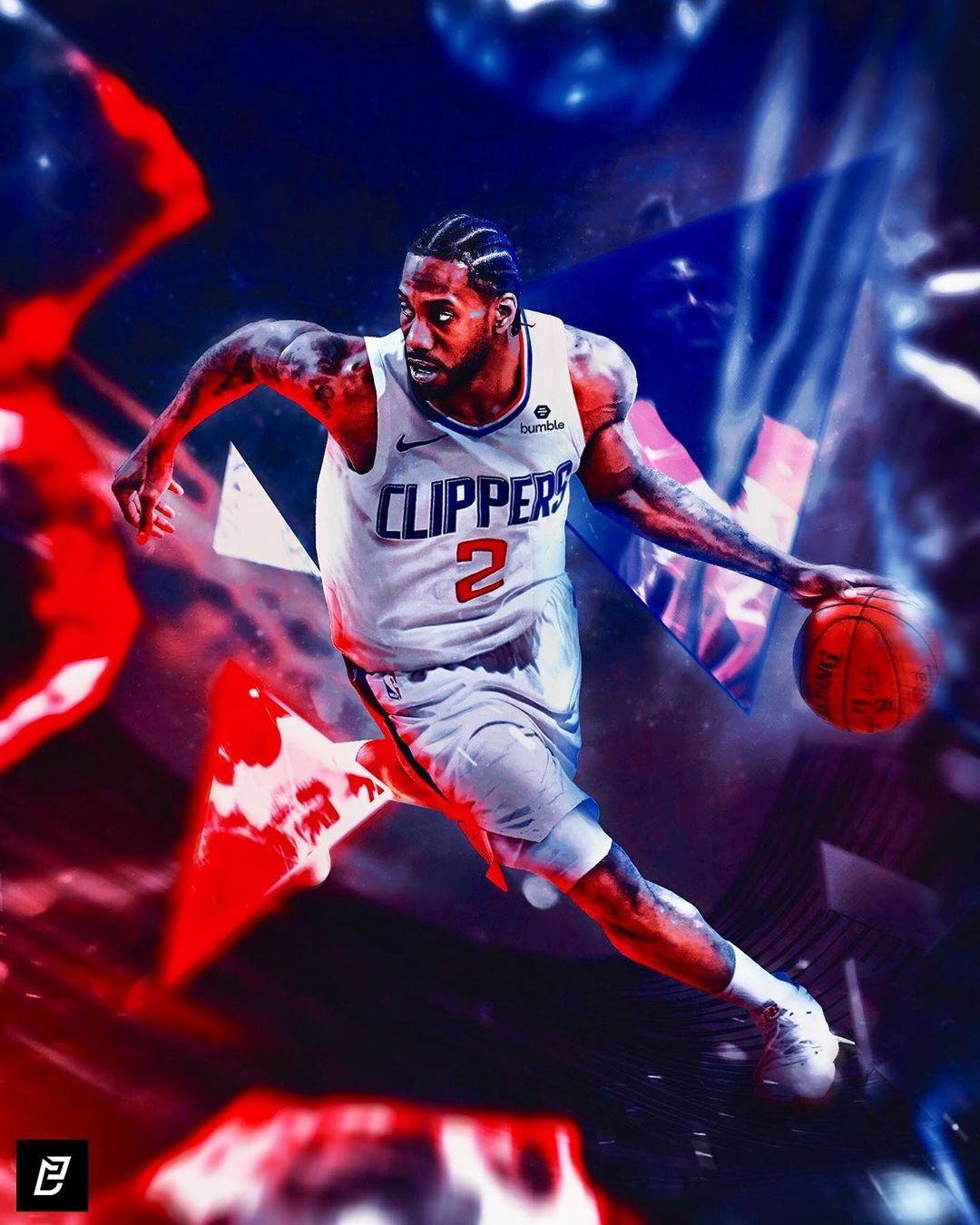 Kawhi Leonard Nba Art Los Angeles Clippers Nba Players