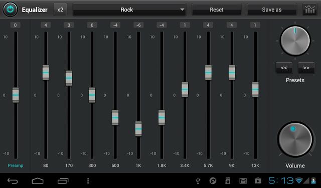 تحميل برنامج jetAudio Music Player لتشغيل الصوتيات للاندرويد
