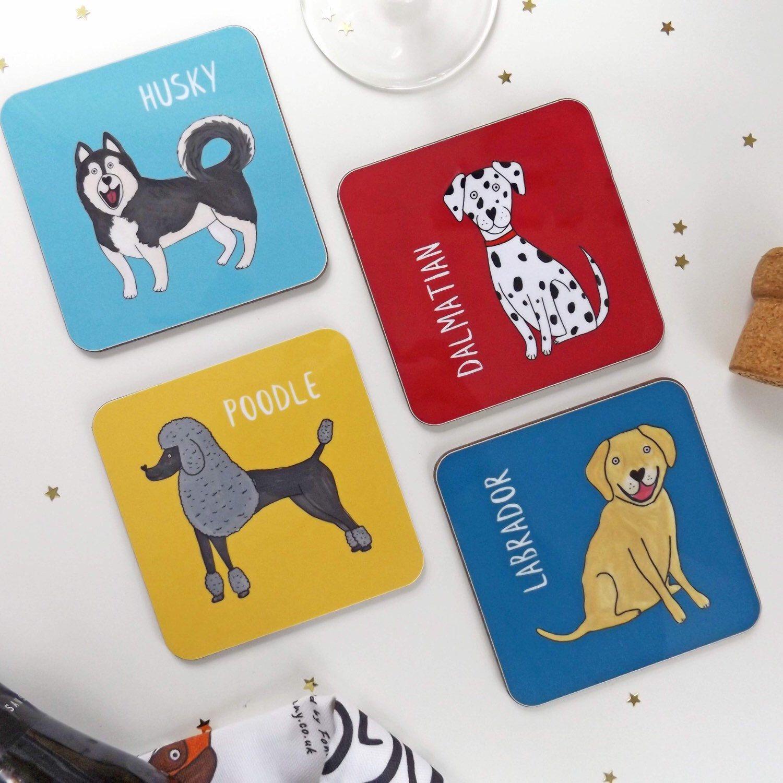 Pembroke Welsh Corgi ~ Corgi Dog Coasters ~ Corgi Gift ~ Dog Coasters ~ Stone Coasters ~ Coaster Set ~ Housewarming Gift~ Pet Coasters