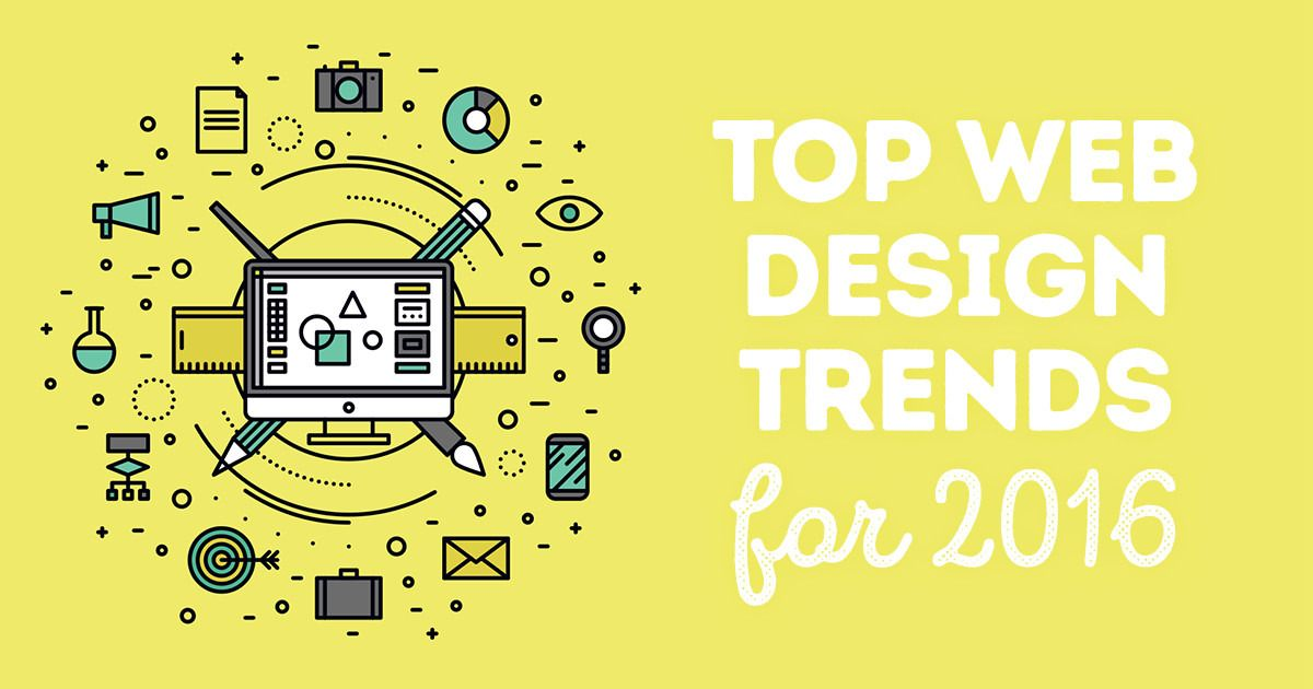 Top Web Design Trends For 2016 Top Web Designs Web Design Web Design Trends