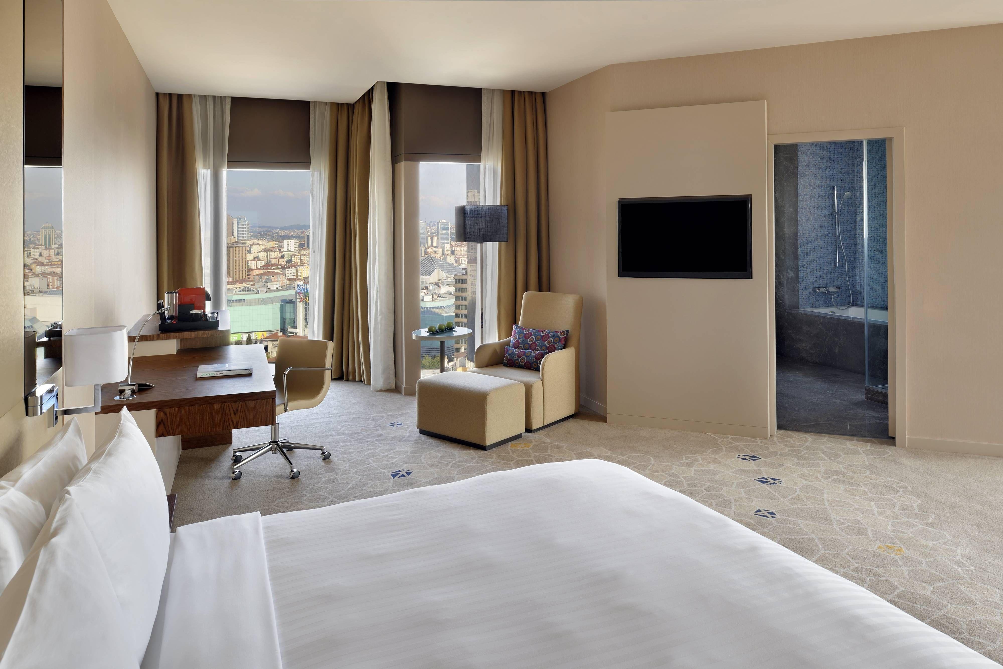 Istanbul Marriott Hotel Sisli Two Bedroom Suite Marriott Hotels Two Bedroom Suites Hotel