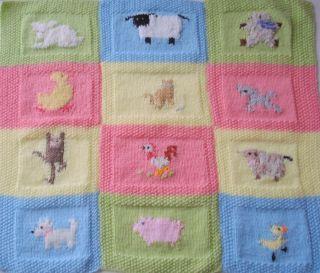 OCEAN KNITTED BLANKET   Artwalk Baby Blanket Knit Sailboat ...