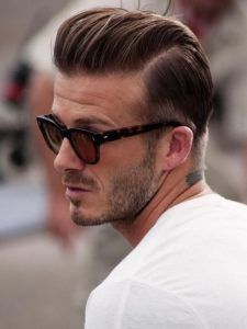 Fußballer Frisuren David Beckham Trend Haare Männer Frisuren