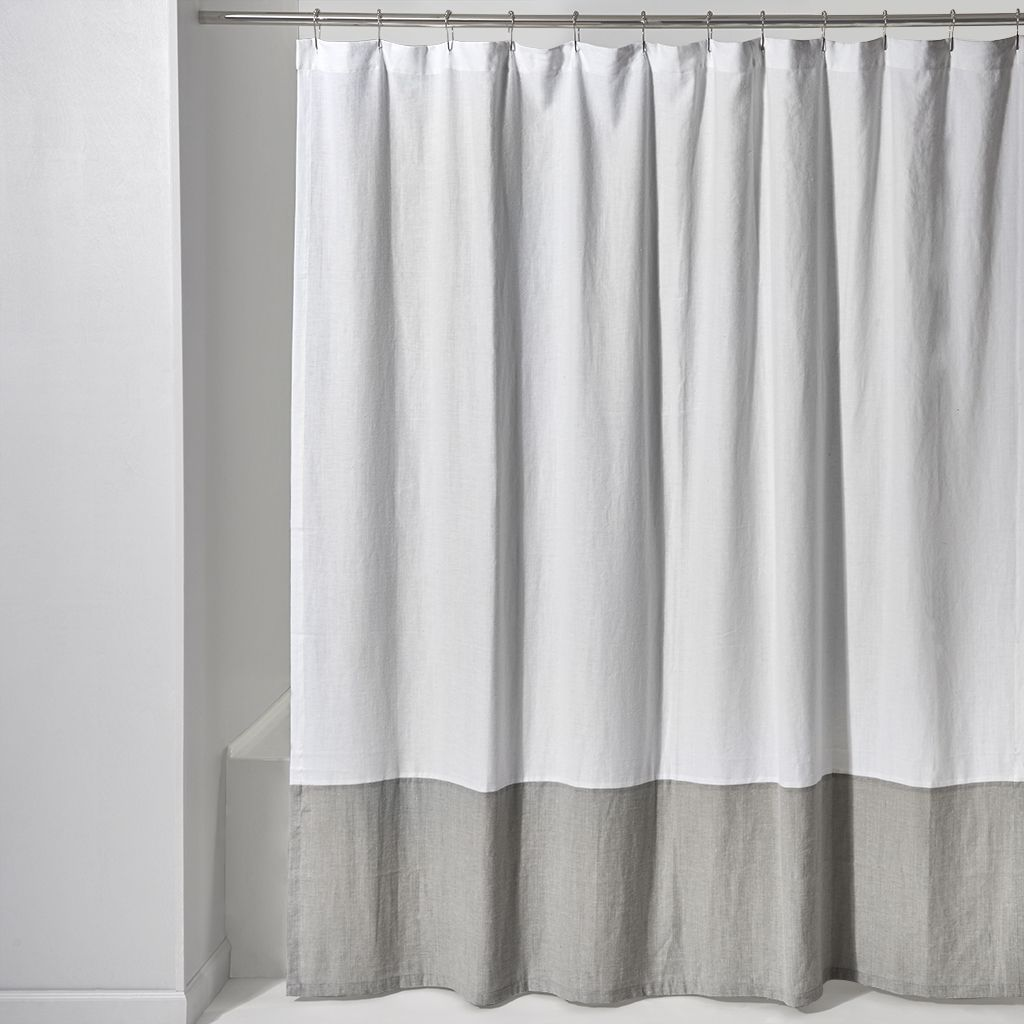 Discover Aquidneck Colorblock Shower Curtain 72 X Online