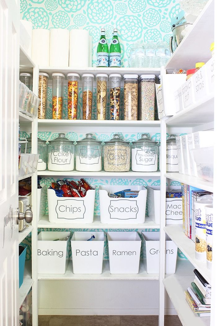 How to organize a pantry and Pantry Organization Ideas   Pinterest ...