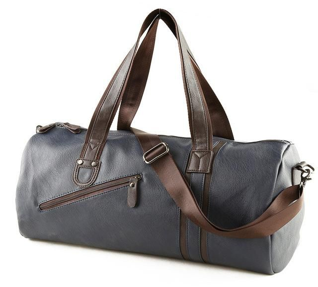 3f7b8178e6b7 TEMENA Large Capacity Outdoor Sports Bag For Men New Brand PU Tote Duffel  Bag Multifunction Travel