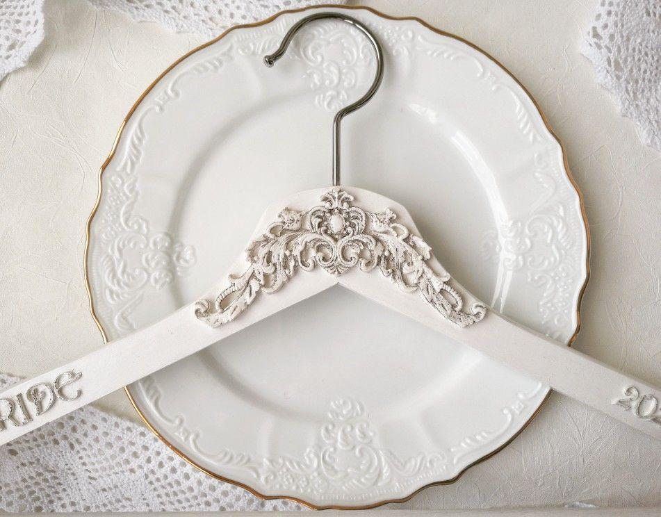 Wedding gress hanger,Bridal gown hanger,Vintage wedding