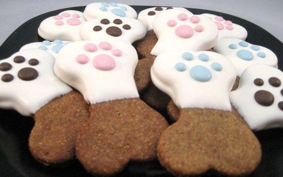 Gourmet Dog Treats Pawtastic Bones Decorated By Twotailsdogbakery