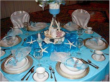 Wedding Reception Decorations Ideas Blue