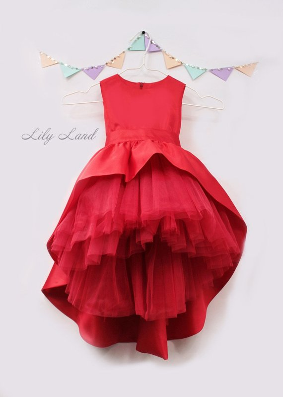 08ad354f337d Pageant girl dress 1st birthday dress toddler dress toddler dresses tulle  girl dress dress with train girl christmas dress red holiday dress red  christmas ...