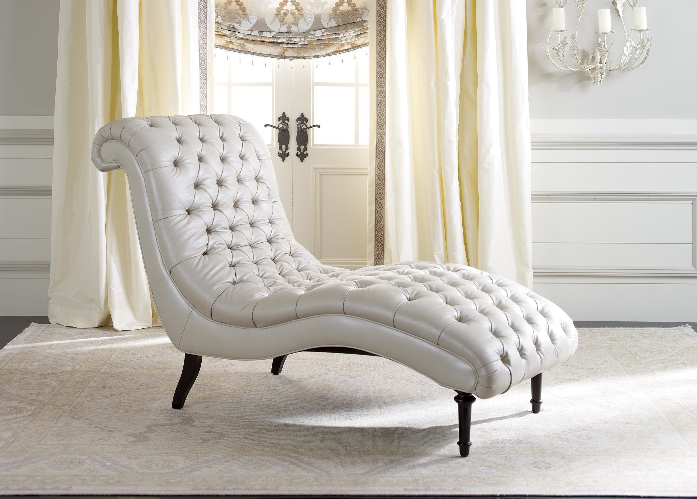 Harlowe Leather Chaise - Ethan Allen   Teak   Pinterest   Chaise ...