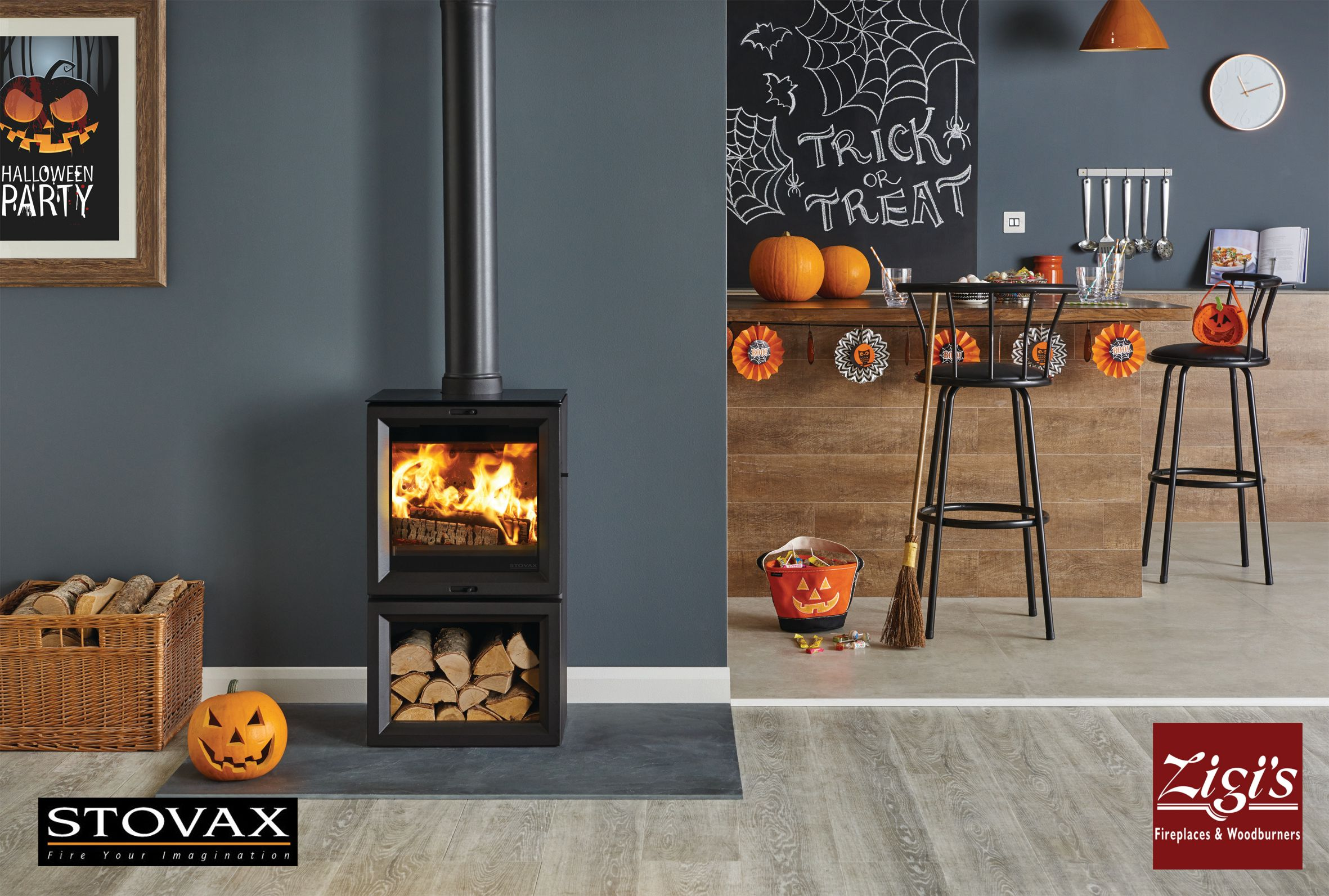 The Stovax View Midline Available From Zigi S Fireplaces