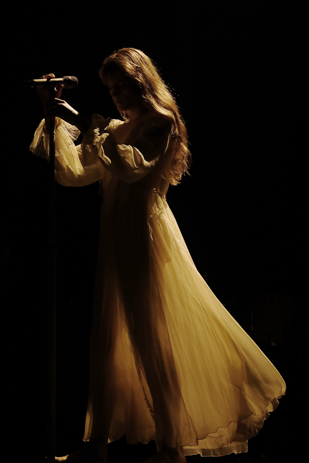 Flaming Stairway Florence Welch Florence Florence The Machines