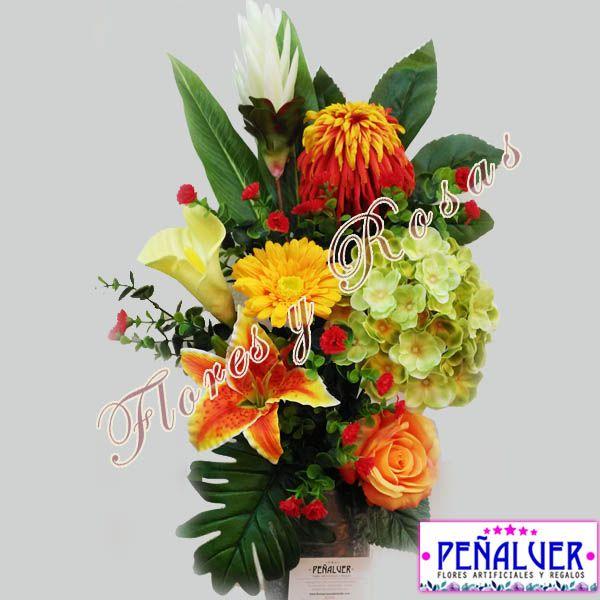 Ramos De Flores Para Cementerio Especial Todos Los Santos Flores Artificiales Arreglos Florales Arreglos Florales Artificiales