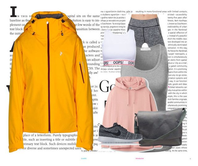 """""""sport#3"""" by tanttu-haapop on Polyvore featuring Oris, Peak Performance, Electric Yoga, Burberry and NIKE"""
