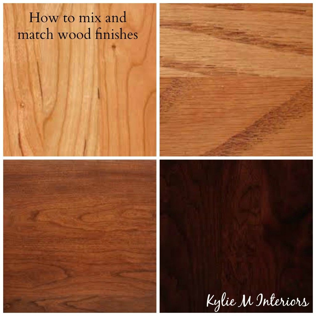 How To Mix Match And Coordinate Wood Stains Undertones Staining Wood Oak Wood Floors Cherry Wood Kitchens