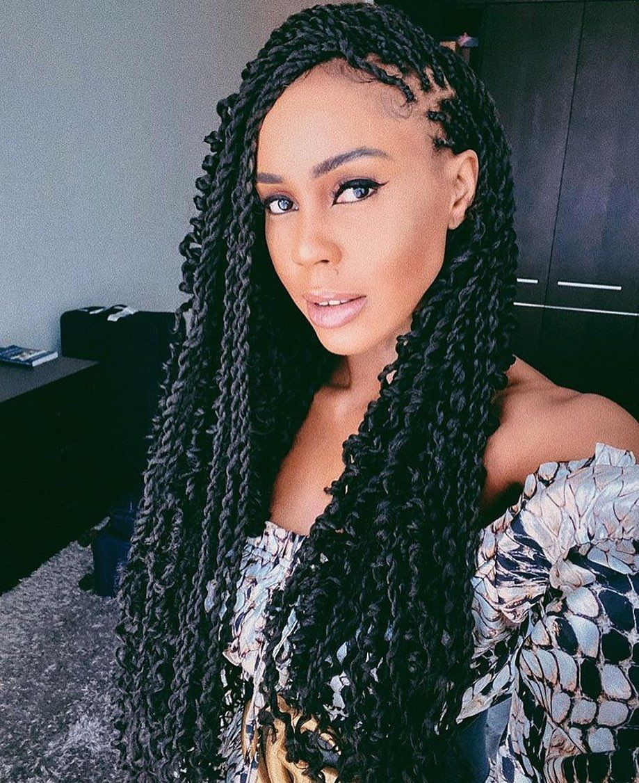 Thin Synacalese Twists Twist Braid Hairstyles Natural Hair Styles Cool Braid Hairstyles