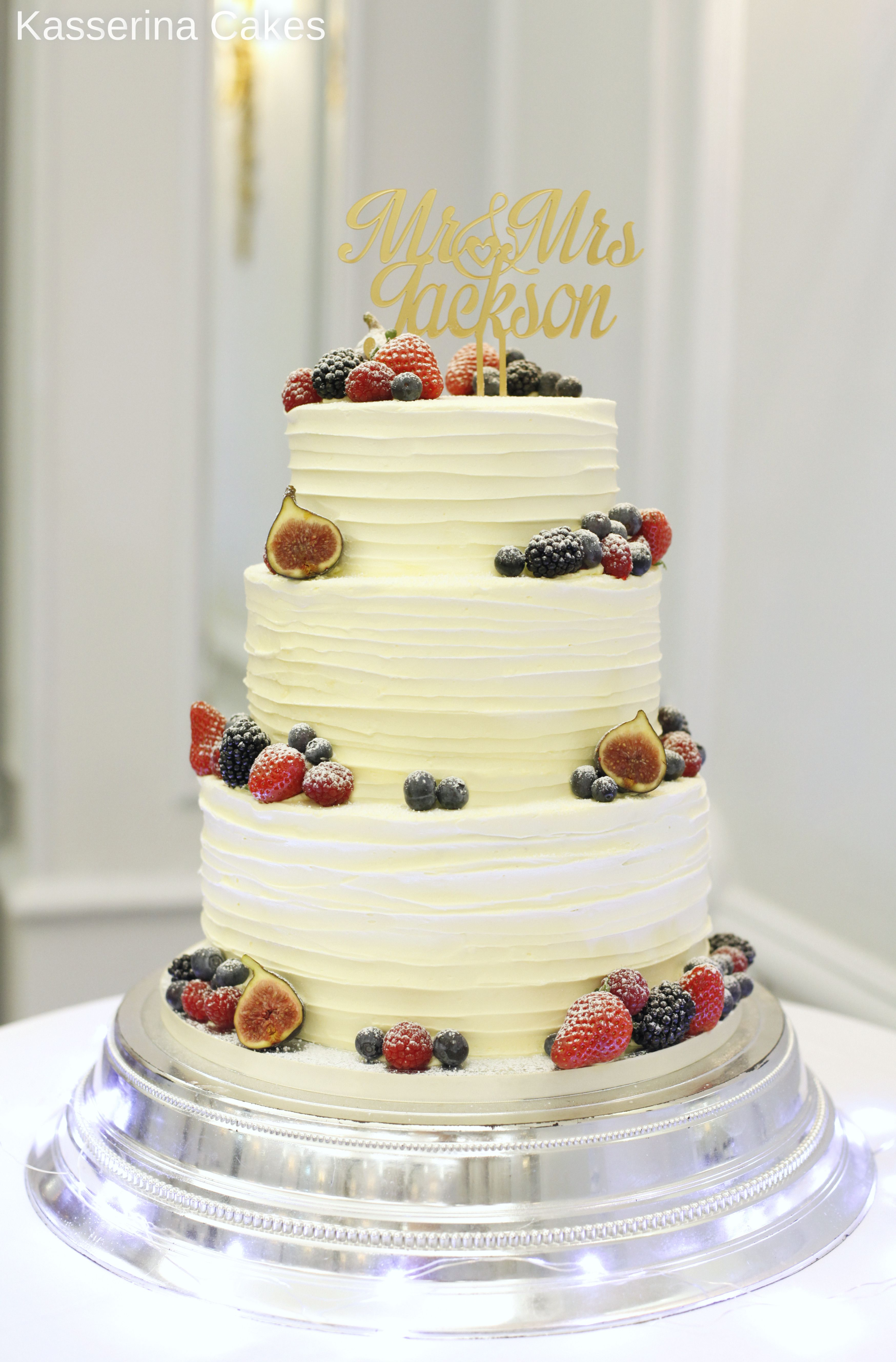 wedding cakes brighton victoria textured buttercream wedding cake with soft fruit by 23950