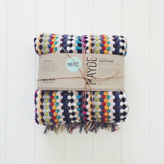 Rainbow Turkish Towel From The Owl 1 Packaging Ideas