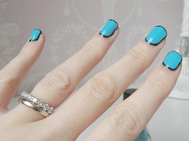 Katy Perry Dark Horse Music Video Inspired Nails blog   My Nail Art ...