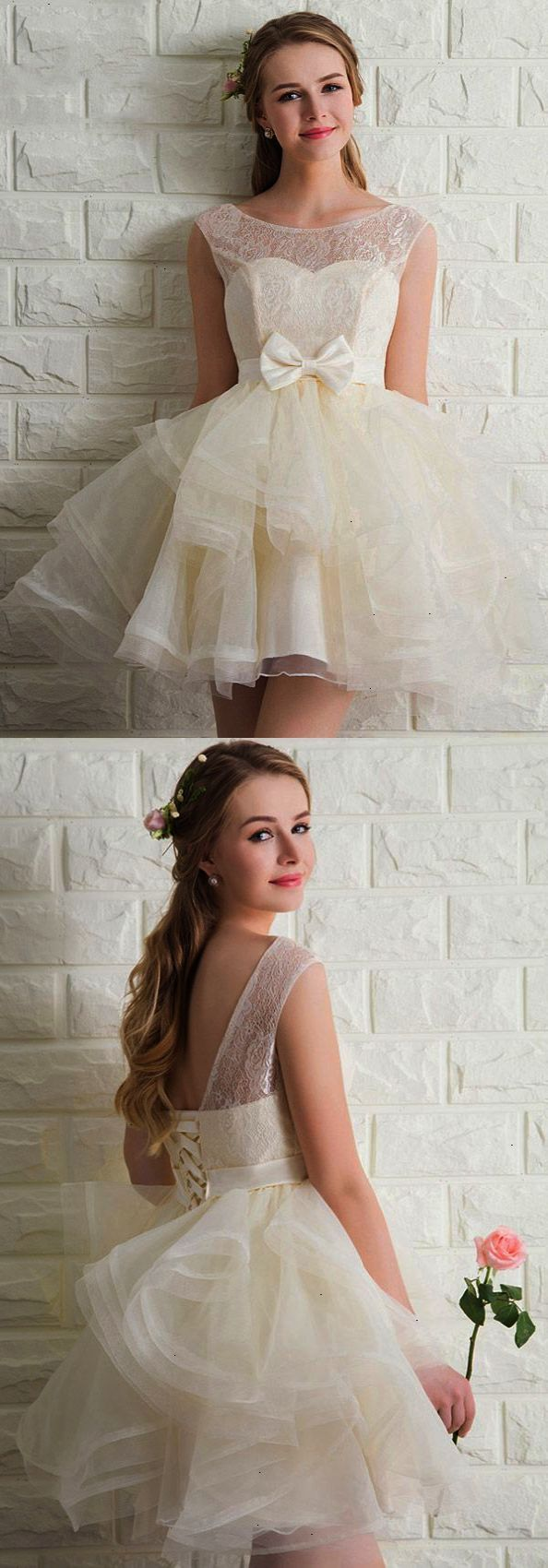 Short prom dresses lace cocktail dresses tulle junior prom