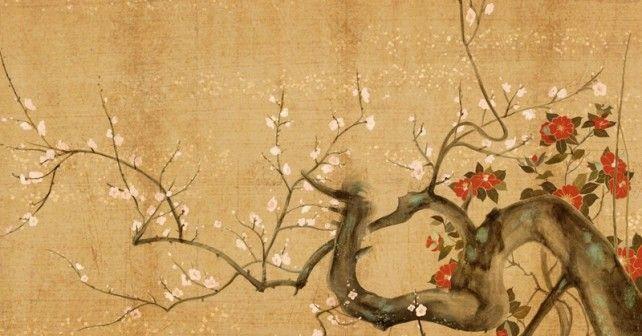 dipinti giapponesi fiori , Cerca con Google