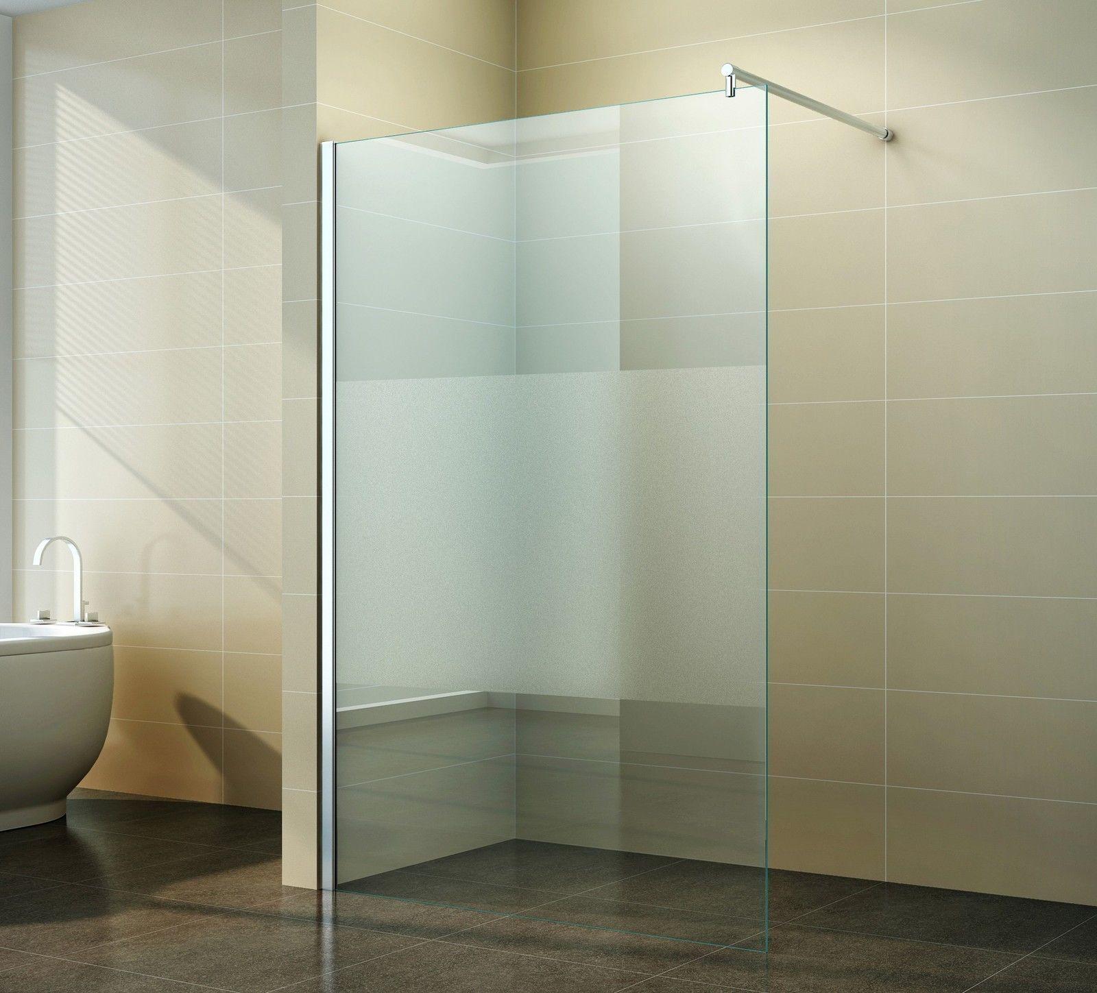 Walk In Duschabtrennung Duschwand Seitenwand 40 160 Cm Glas 10mm Nano Ebay Duschwand Duschabtrennung Dusche