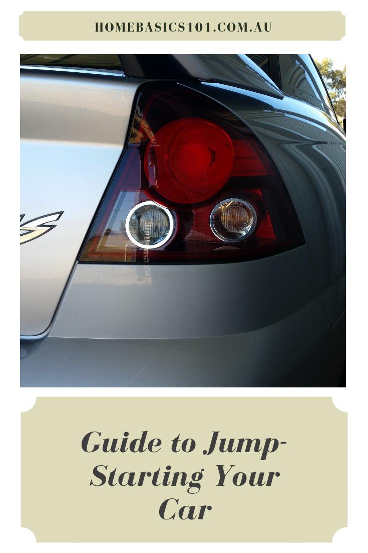 How To Jump Start A Car Car Quad Bike Back To Basics
