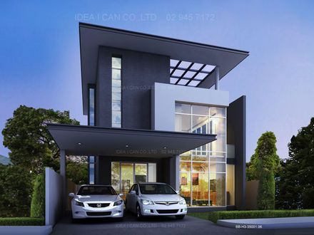 Modern 2 Story House Plans Two Story Contemporary House Plans Two Contemporary House Plans 2 Story House Design Modern House Plans