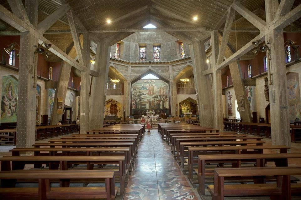 #Church of the Anunciation, Nazareth...http://www.itstravel.co.uk/