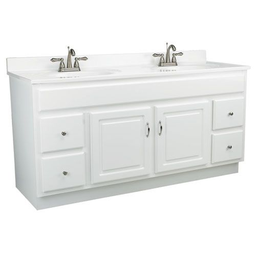 Concord 60 Inch White Gloss Vanity Cabinet Without Top Bathroom Vanities Without Tops Traditional Bathroom Vanity Bathroom Vanity Tops