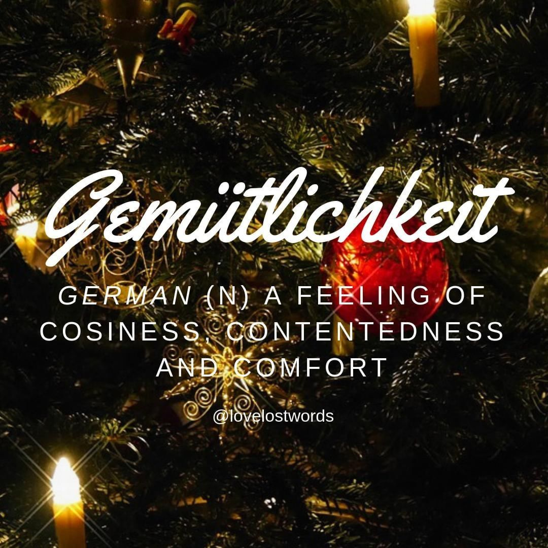 german word gemutlichkeit
