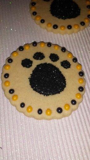 Paw Print Sugar Cookie