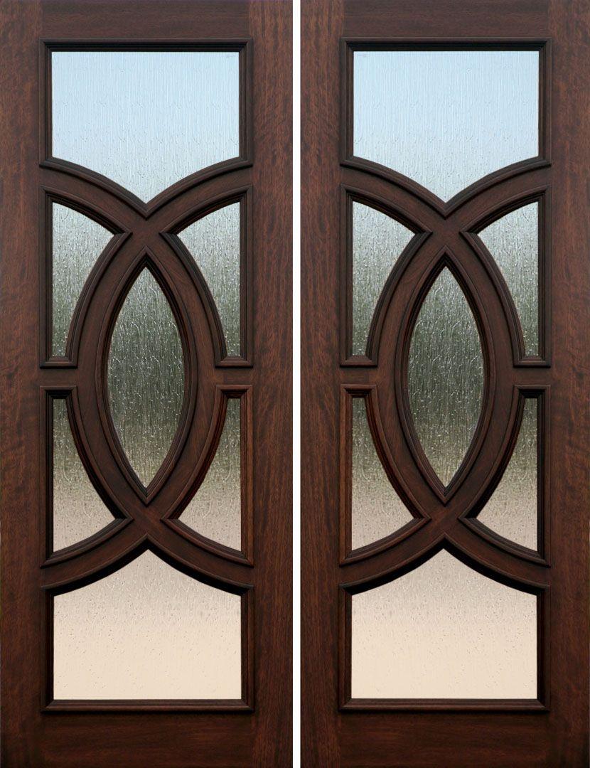Olympus Mahogany Wood Door Doors Pinterest Doors Entry Doors
