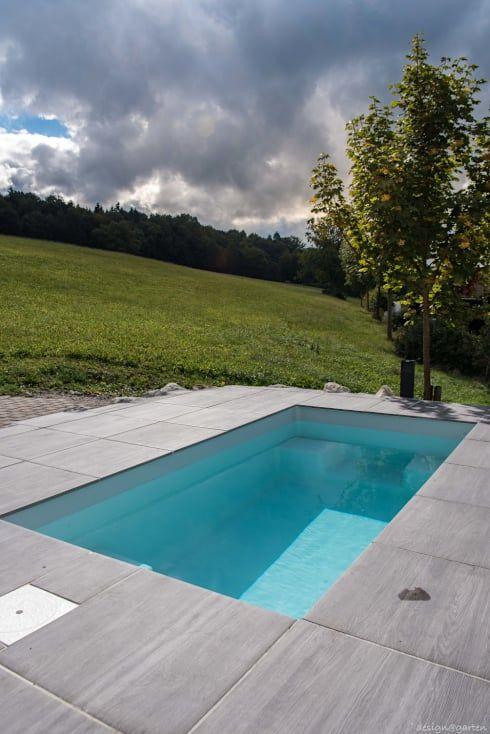 Minipool @wat - Meersalzwasser Tauchbecken für den Garten von design ...