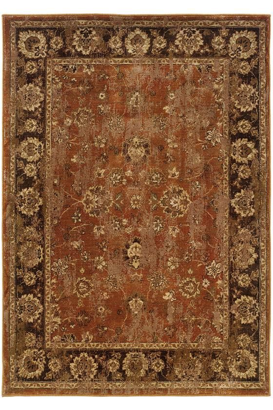 Calabria Area Rug 10 X 13 Rust Maybe Orange W Brown