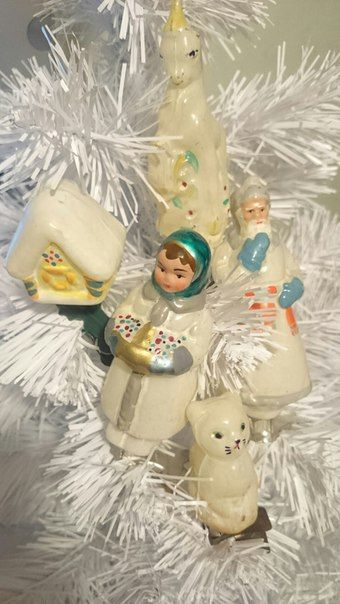Это ИНТЕРЕСНО! Старый добрый Новый год Елочные игрушки СССР