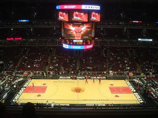 Exterior: United Center To Watch The Chicago Bulls Play