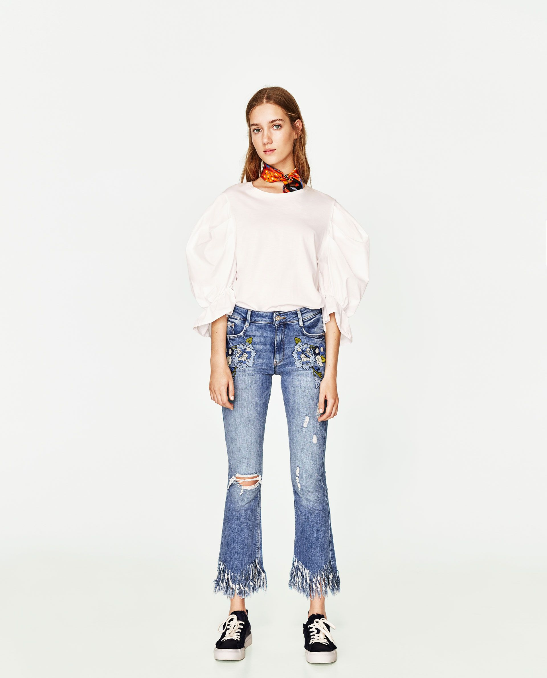 d7f1f10a8d0 MID-RISE MINI FLARE JEANS-View All-JEANS-WOMAN