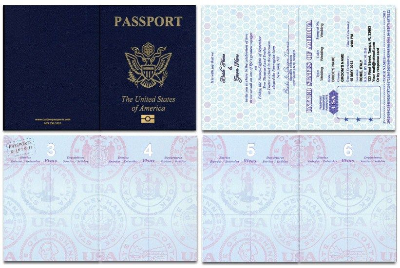 Passport cover template printable passport cover template for Passport picture template