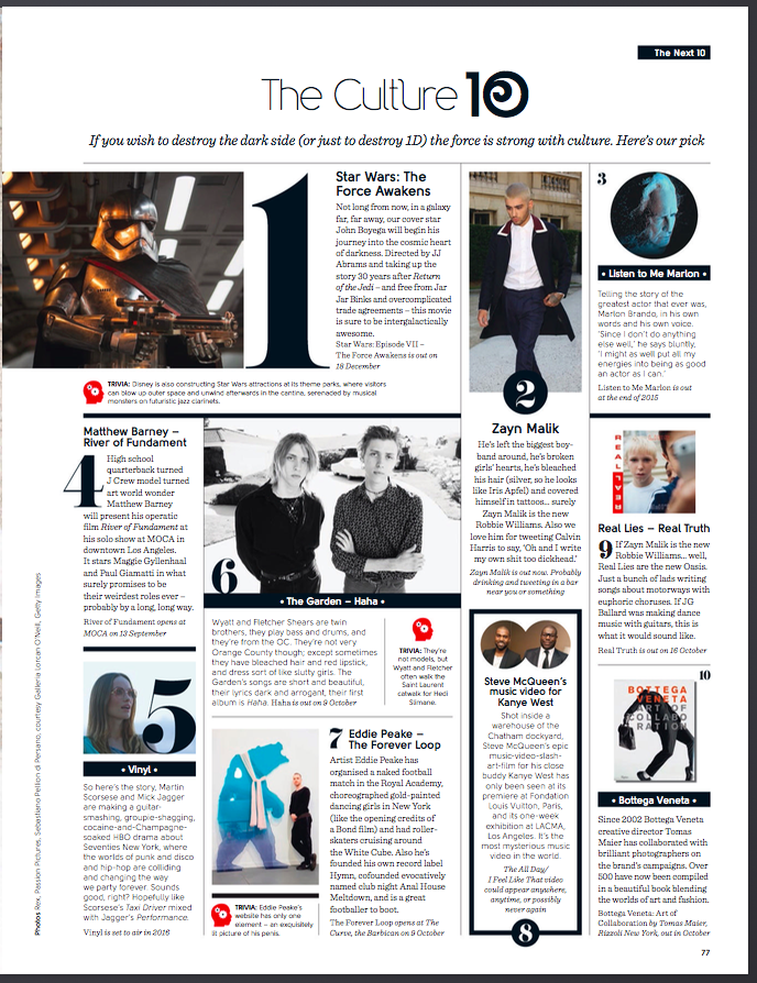 Gq Style List Magazine Design Editorial Layout Newspaper